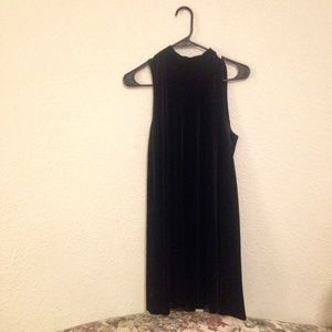 {5/$20 SALE} Velvet Mock Turtleneck Swing Dress